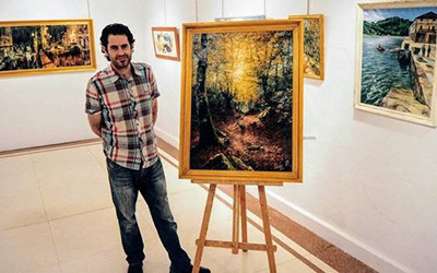 Miquel Cazaña expone 'Del Baztan al Mundo. Volumen II'